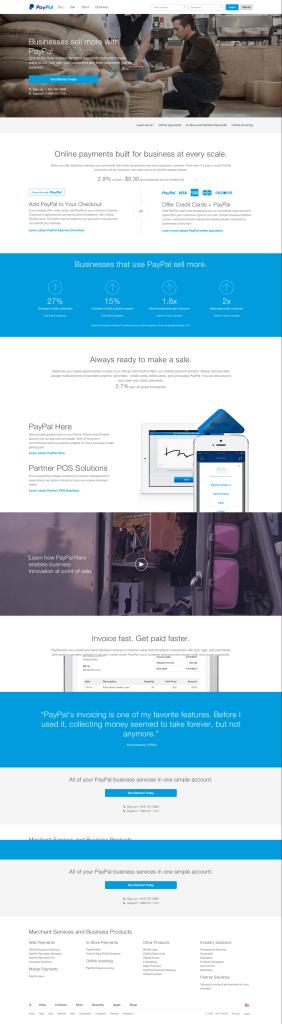 PayPalLandingPage