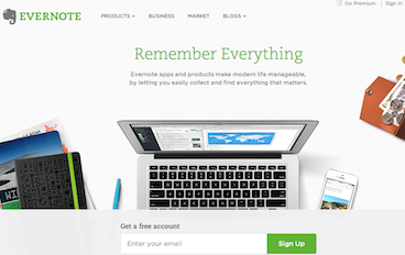 Evernote Funnel