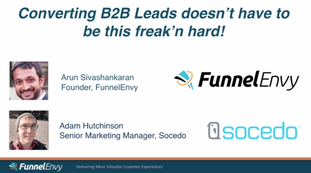 --Webinar-- How to increase B2B Leads with Personalization and Social Data